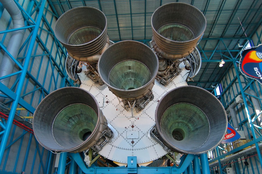 Saturn V Rocket Booster