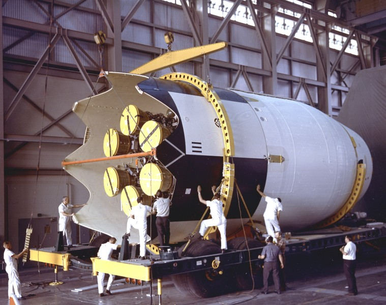 Second Stage for SA-9