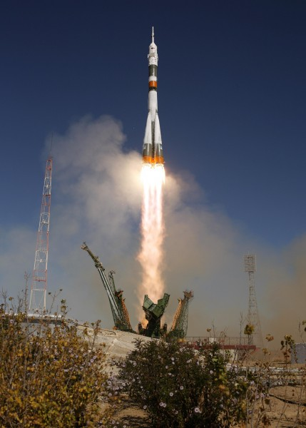 Soyuz Lifts Off