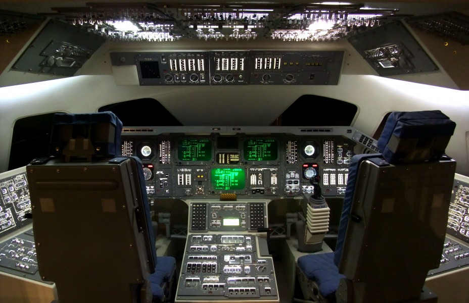 Space Shuttle Cockpit at the Hong Kong Space Museum