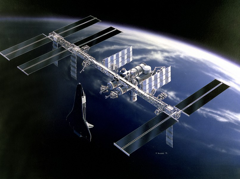 Space Station Freedom design 1991