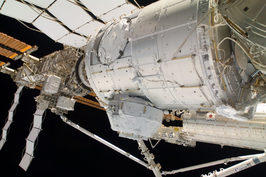 STS-130 PMA-3 relocation 3