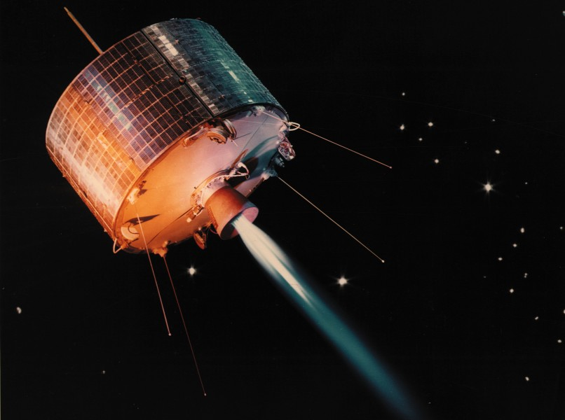Syncom, the First Geosynchronous Satellite - GPN-2002-000123