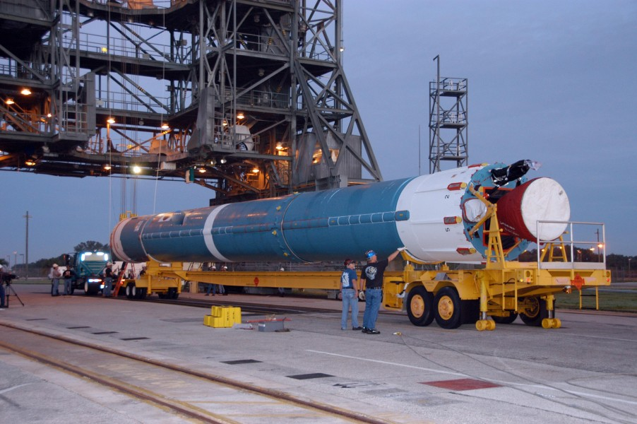 Thor XLT first stage of an Delta II 7925 rocket