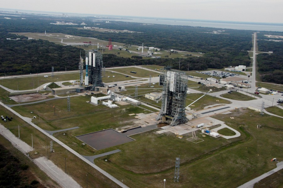 View over Launch Complex 17