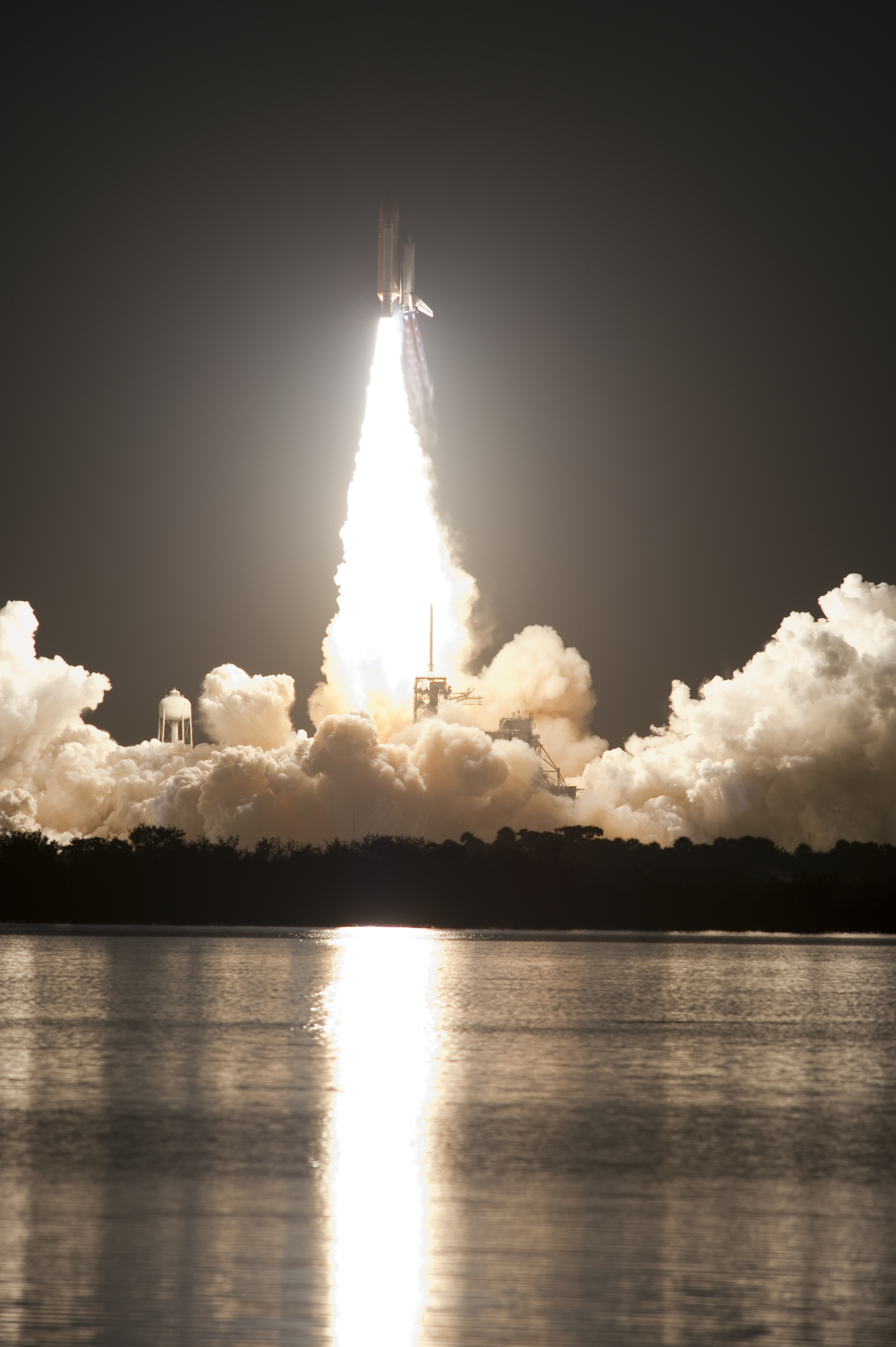 STS-131 launching from Kennedy Space Center