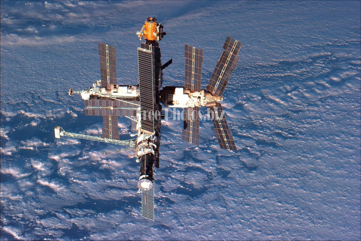 space station Mir on 24 September 1996