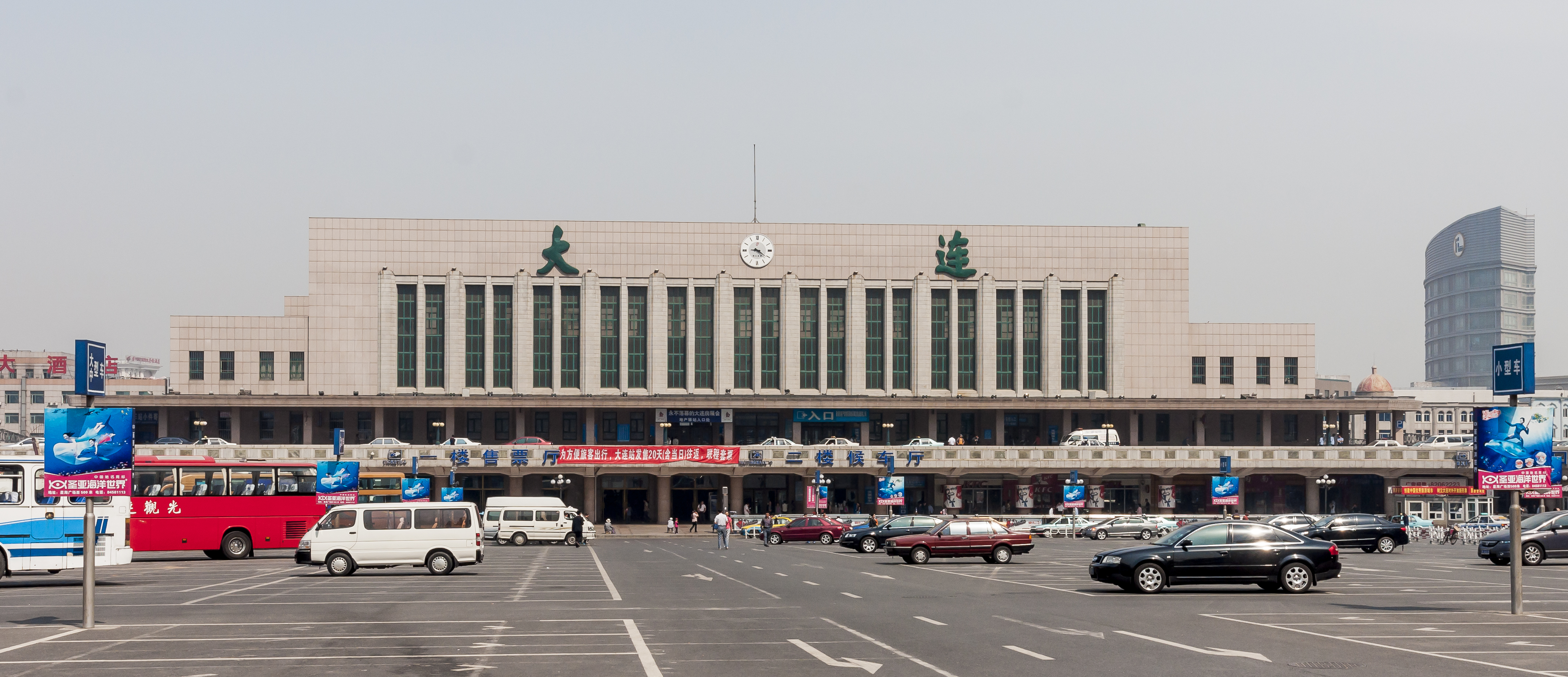 Dalian China Dalian-Railway-Station-02