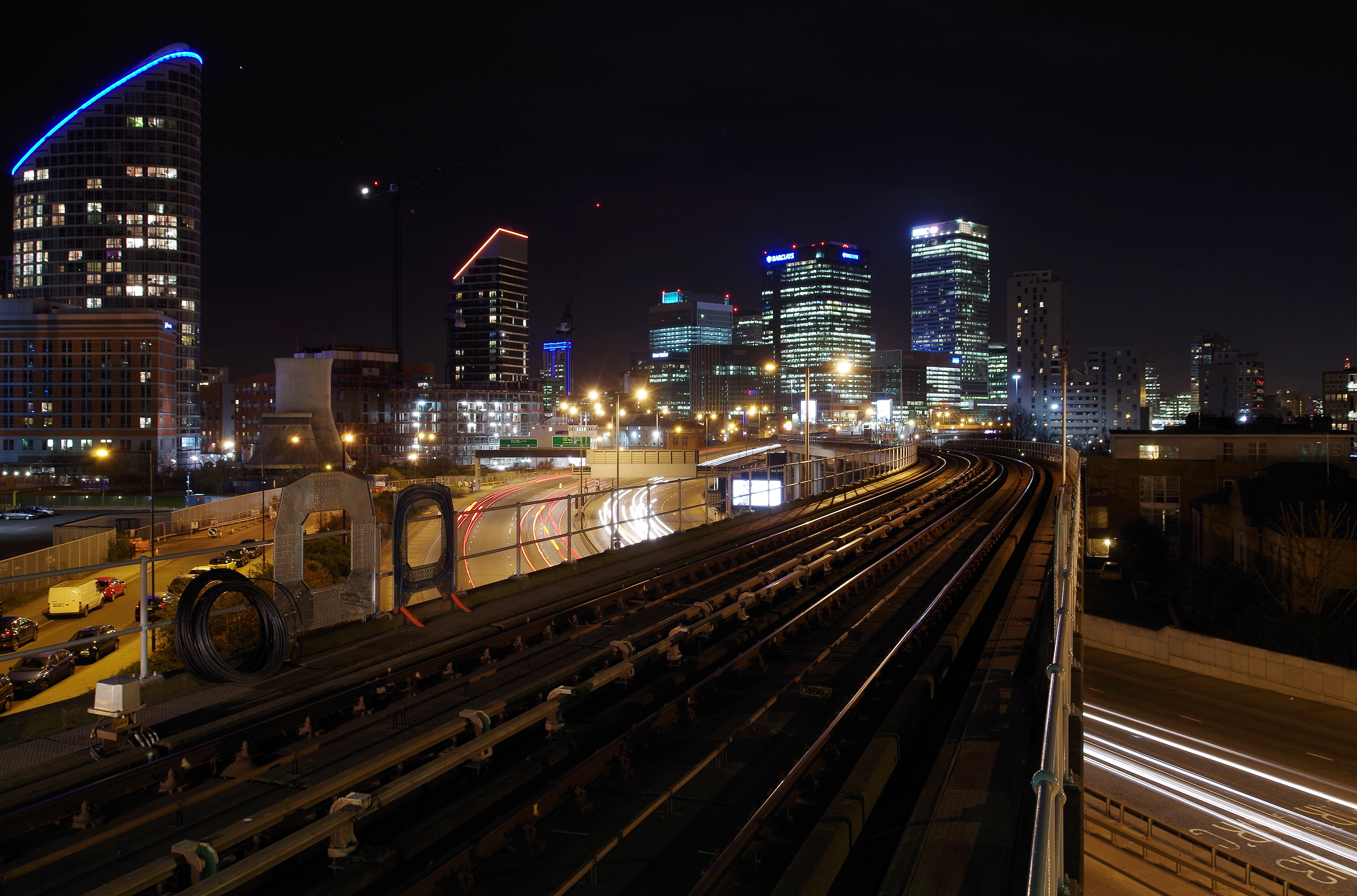 East India DLR station MMB 03