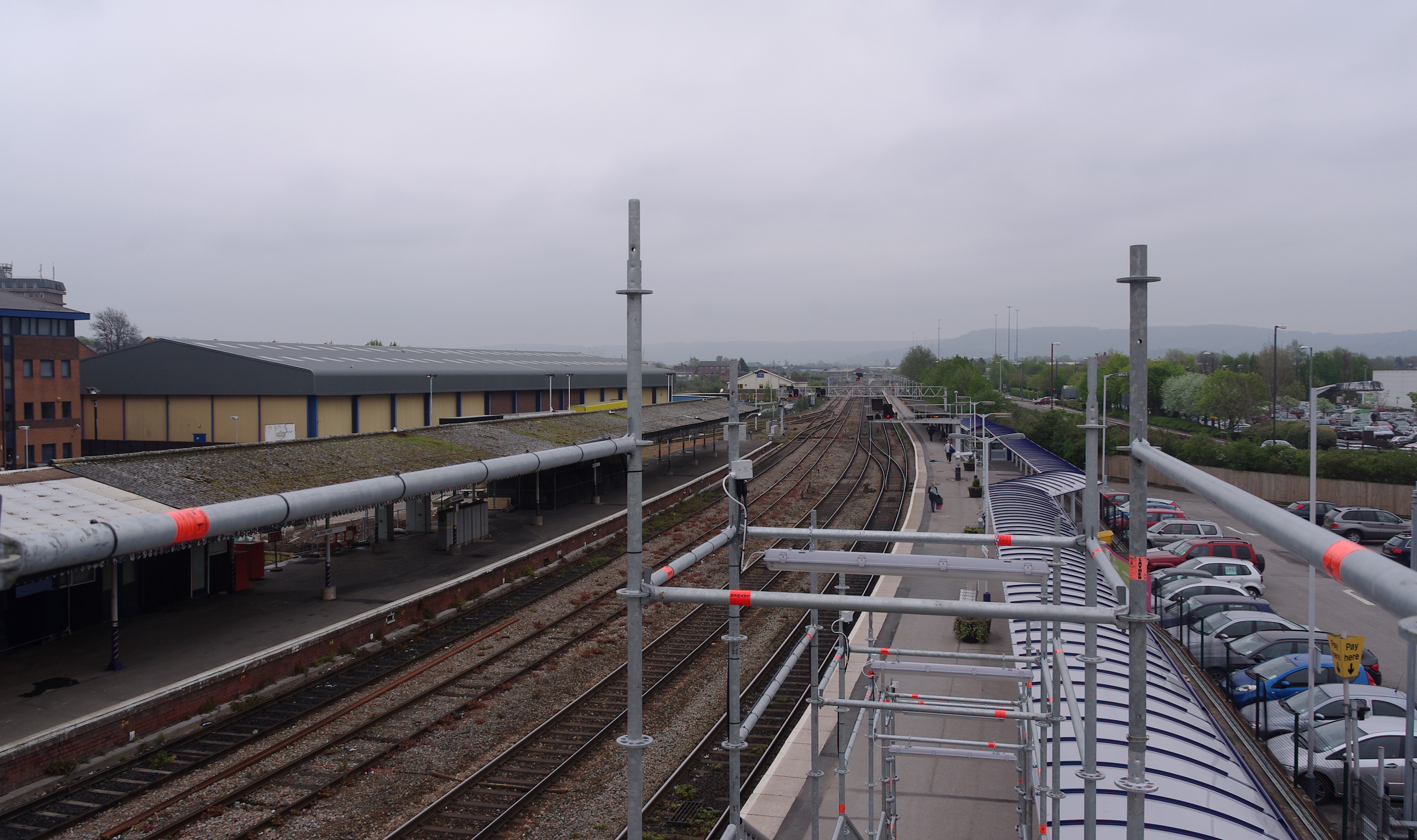 Gloucester railway station MMB 47