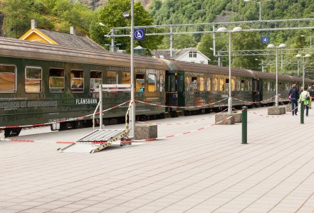 a Flåm rail line (Flåmsbana) train, Norway, June 2014, picture 15