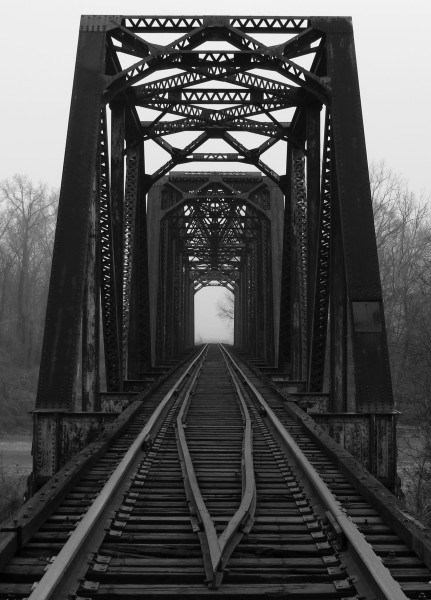 Columbus and Greenville Railway bridge over Yazoo River
