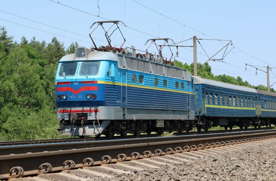 Locomotive ChS4-111 2017 G1