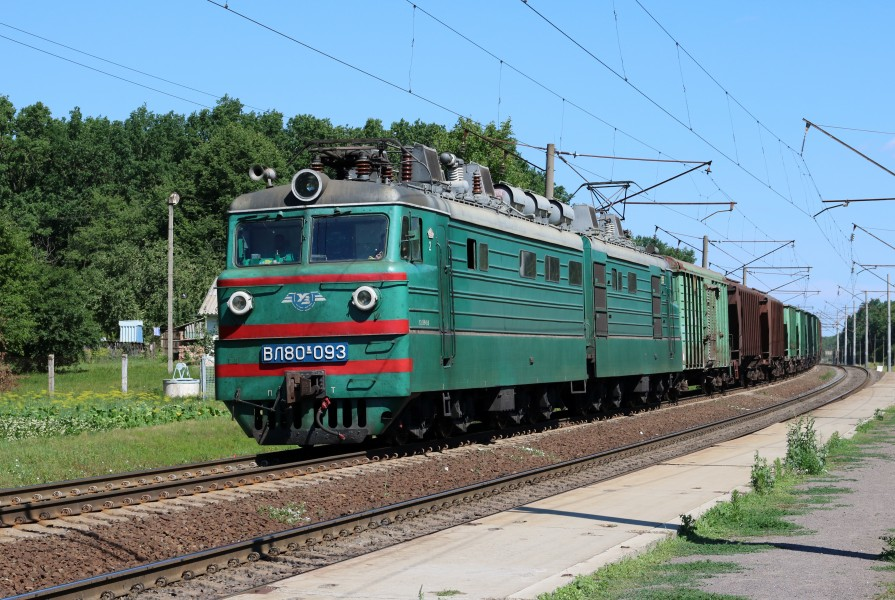 Locomotive VL80K-093 2017 G1