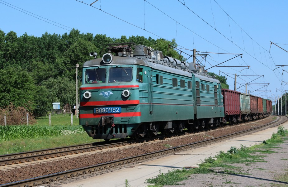 Locomotive VL80K-182 2017 G1