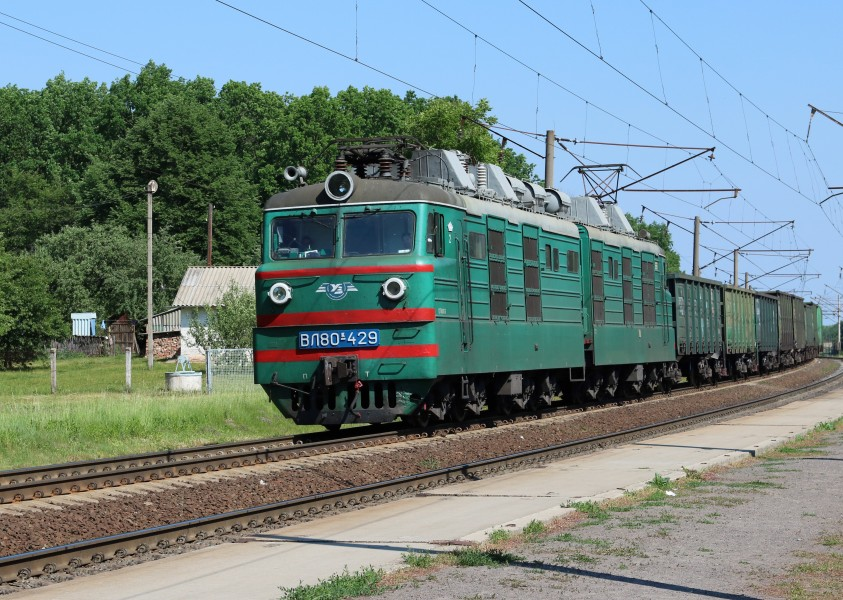 Locomotive VL80K-429 2017 G1