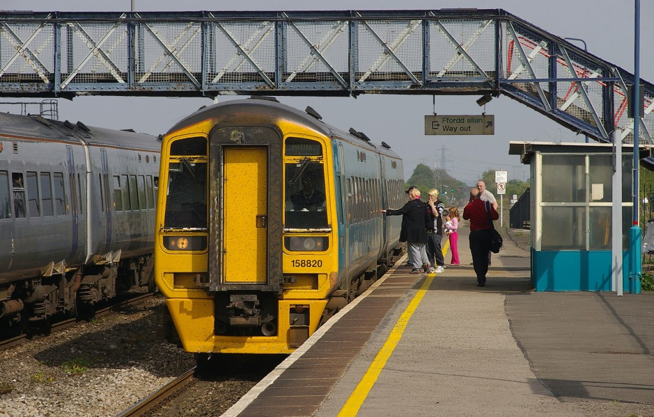 Severn Tunnel Junction railway station MMB 09 158820