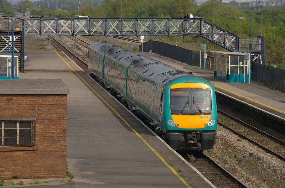 Severn Tunnel Junction railway station MMB 21 170108