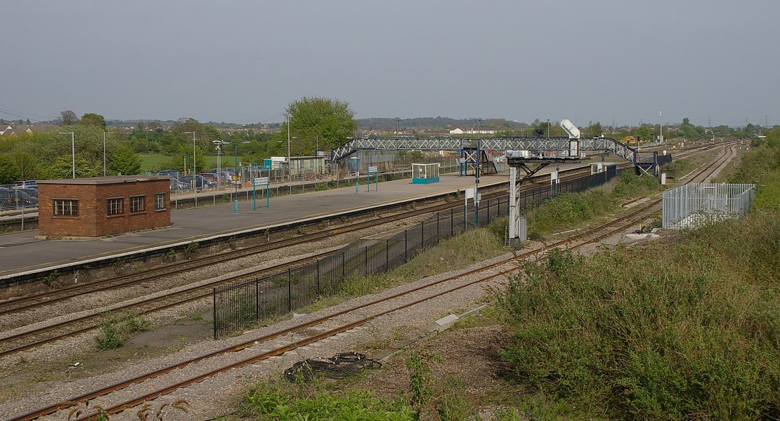Severn Tunnel Junction railway station MMB 22