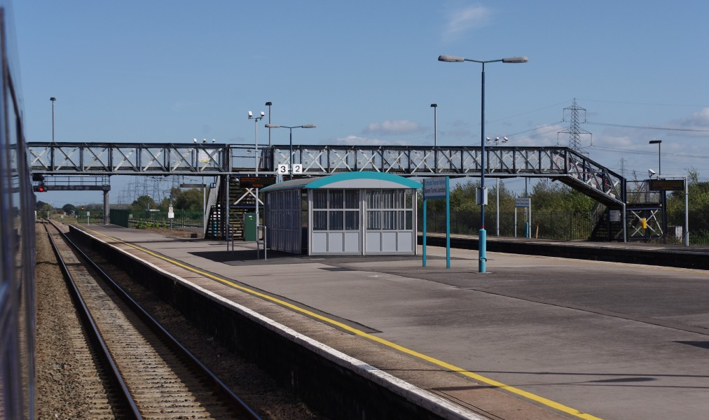 Severn Tunnel Junction railway station MMB 25