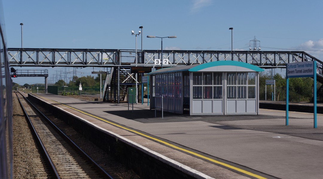 Severn Tunnel Junction railway station MMB 26