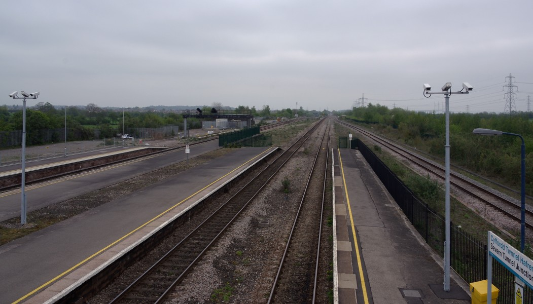Severn Tunnel Junction railway station MMB 29