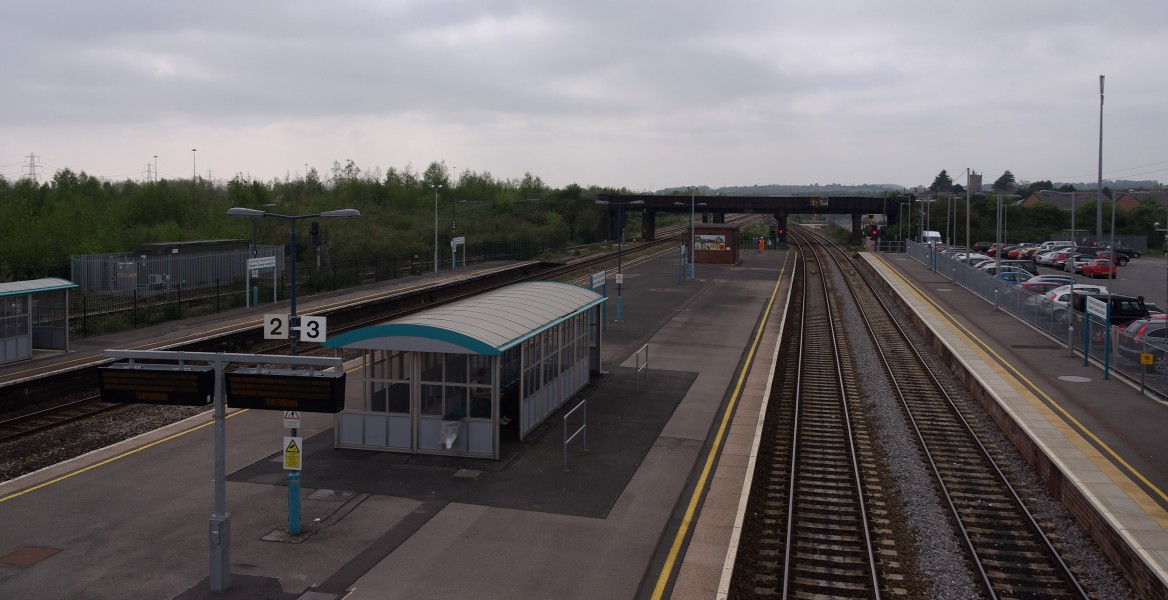 Severn Tunnel Junction railway station MMB 30