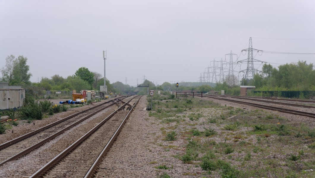 Severn Tunnel Junction railway station MMB 39