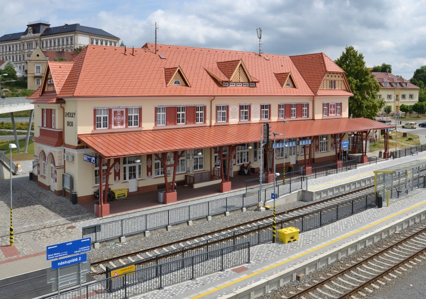Uherský Brod (Ungarisch Brod) - train station